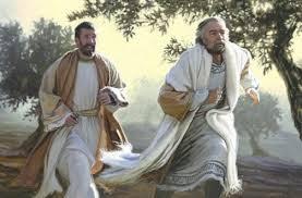 Slikovni rezultat za Evanđelje Iv 20, 1-8