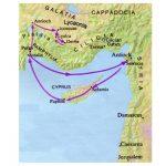 9.  Prvo misijsko putovanje – Cipar i Mala Azija (Dj 13 – 14): početak u Antiohiji i djelovanje na Cipru (13,1-12)